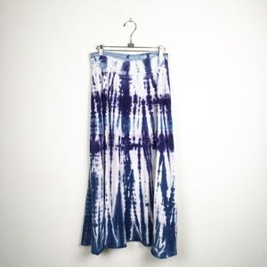 New Tryst Long Ombre Tie Dye Pull On Skirt  M